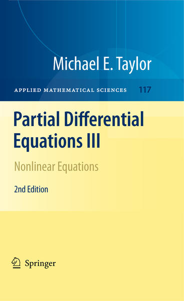 Partial Differential Equations III - Coverbild