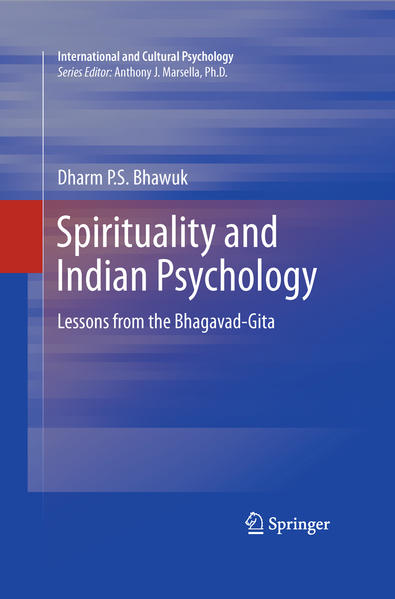 Spirituality and Indian Psychology - Coverbild
