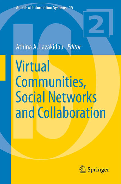 Virtual Communities, Social Networks and Collaboration - Coverbild
