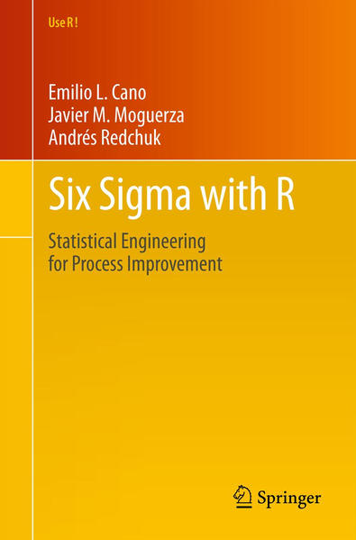 Six Sigma with  R - Coverbild