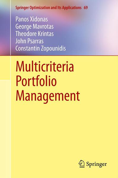 Multicriteria Portfolio Management - Coverbild