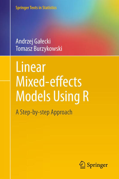 Linear Mixed-Effects Models Using R - Coverbild