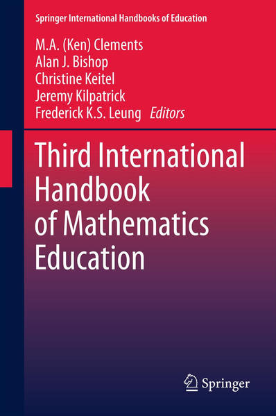 Third International Handbook of Mathematics Education - Coverbild
