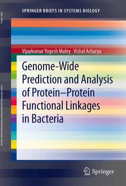 Genome-Wide Prediction and Analysis of Protein-Protein Functional Linkages in Bacteria - Coverbild