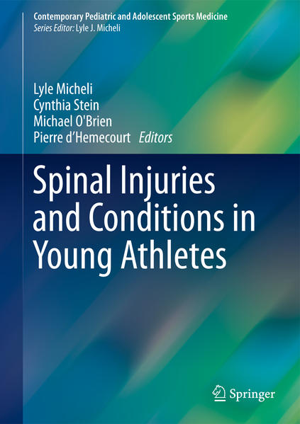 Spinal Injuries and Conditions in Young Athletes - Coverbild