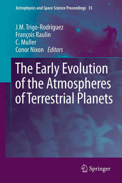 The Early Evolution of the Atmospheres of Terrestrial Planets - Coverbild