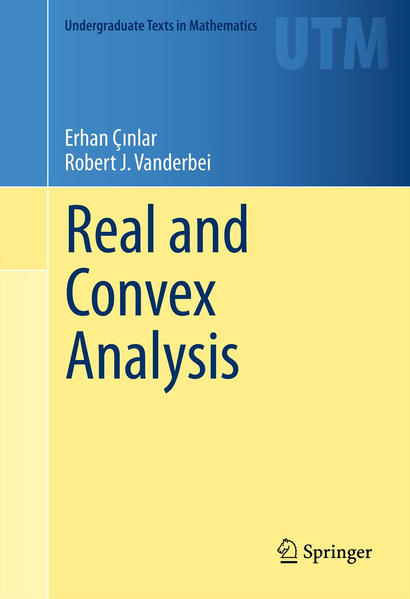 Real and Convex Analysis - Coverbild