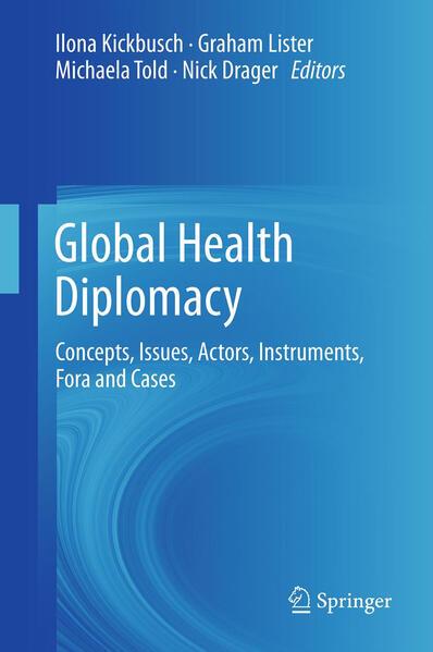 Global Health Diplomacy - Coverbild
