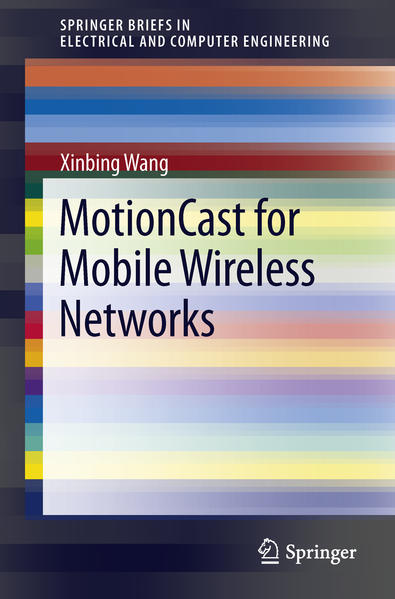 MotionCast for Mobile Wireless Networks - Coverbild