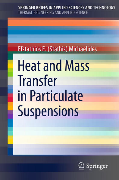 Heat and Mass Transfer in Particulate Suspensions - Coverbild
