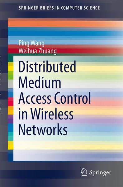 Distributed Medium Access Control in Wireless Networks - Coverbild