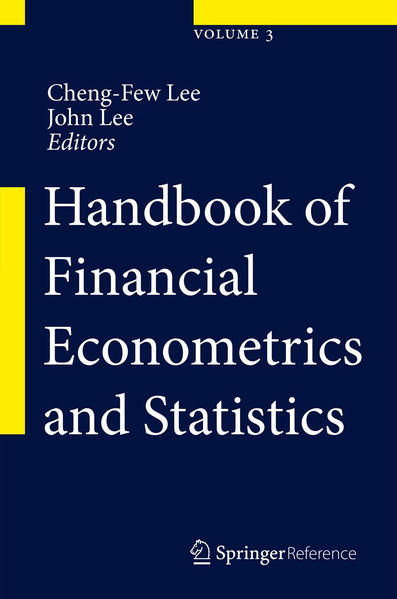 Handbook of Financial Econometrics and Statistics - Coverbild