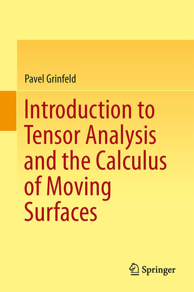 Introduction to Tensor Analysis and the Calculus of Moving Surfaces - Coverbild