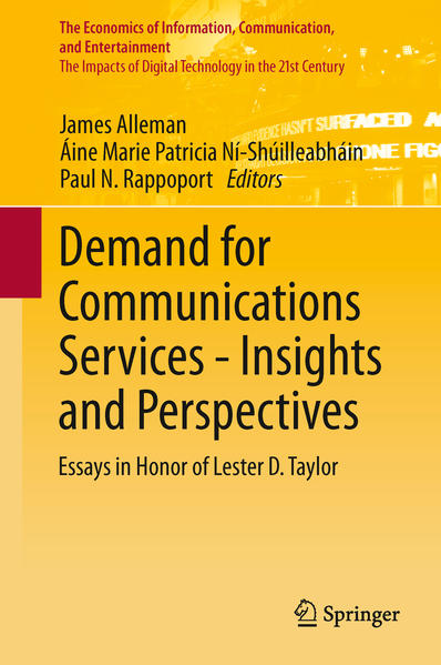 Demand for Communications Services – Insights and Perspectives - Coverbild