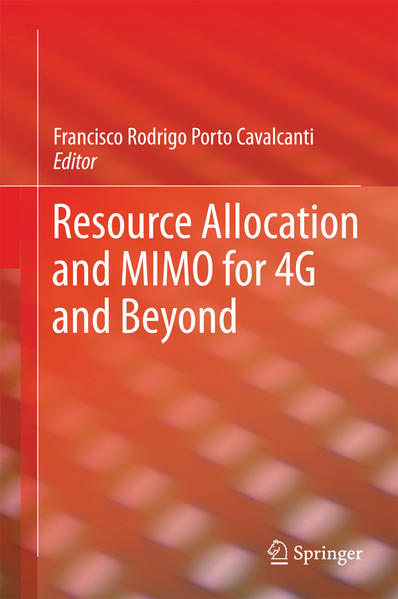 Resource Allocation and MIMO for 4G and Beyond - Coverbild