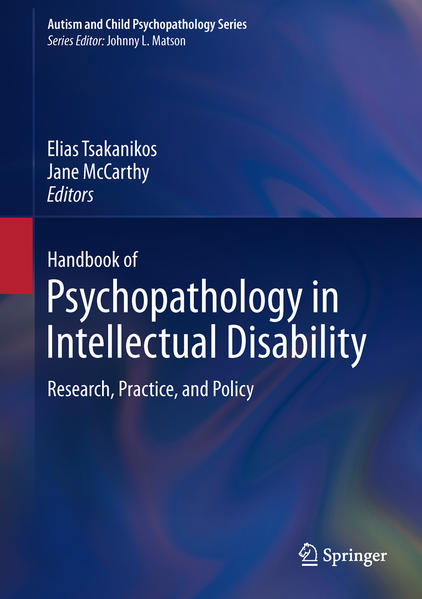 Handbook of Psychopathology in Intellectual Disability - Coverbild