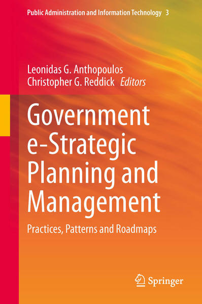 Government e-Strategic Planning and Management - Coverbild