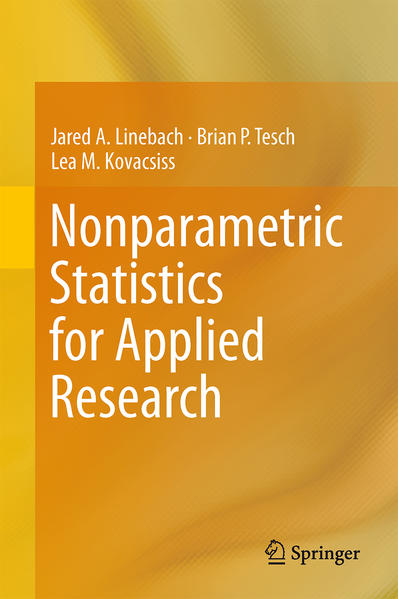 Nonparametric Statistics for Applied Research - Coverbild