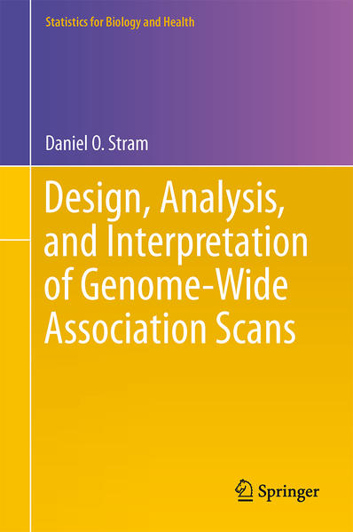 Design, Analysis, and Interpretation of Genome-Wide Association Scans - Coverbild