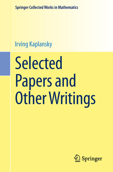 Selected Papers and Other Writings - Coverbild