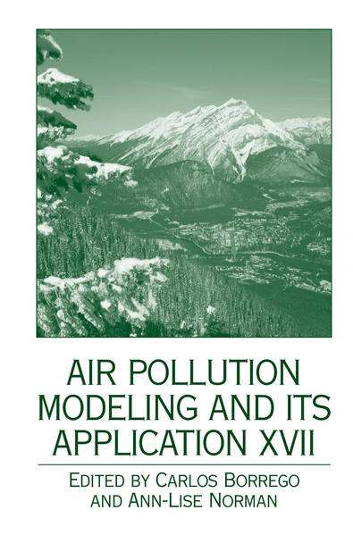 Air Pollution Modeling and its Application XVII - Coverbild
