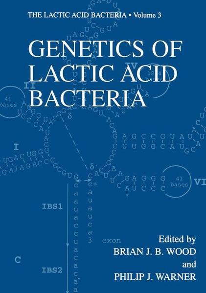 Genetics of Lactic Acid Bacteria - Coverbild