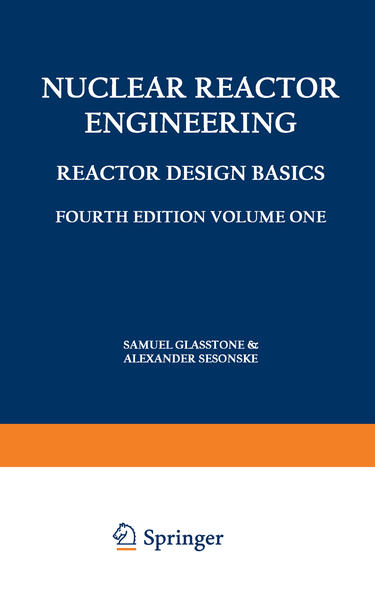 Nuclear Reactor Engineering - Coverbild