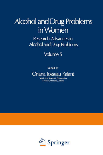 Alcohol and Drug Problems in Women - Coverbild
