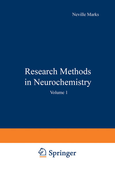 Research Methods in Neurochemistry - Coverbild