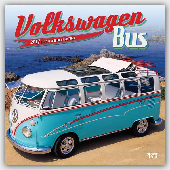 Volkswagen Bus - VW Bully 2017 - 18-Monatskalender Epub Kostenloser Download