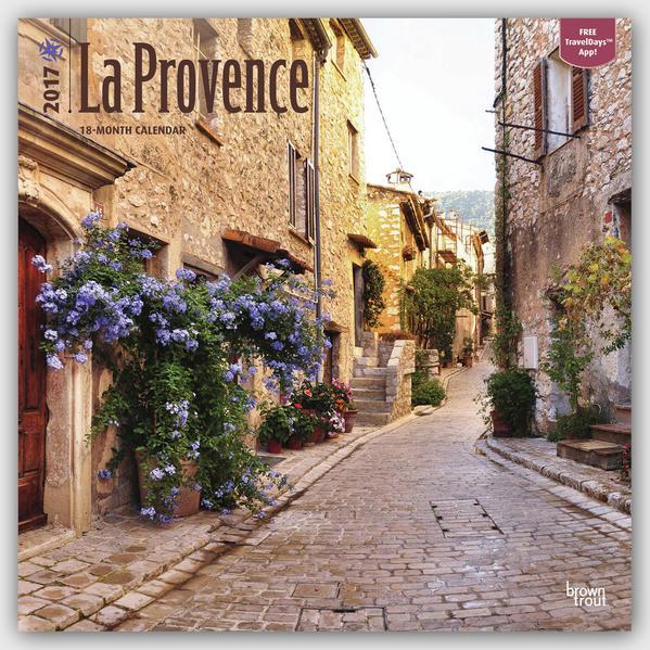 La Provence 2017 - 18-Monatskalender mit freier TravelDays-App - Coverbild