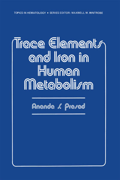 Trace Elements and Iron in Human Metabolism - Coverbild