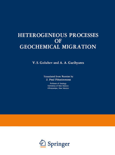 Heterogeneous Processes of Geochemical Migration - Coverbild