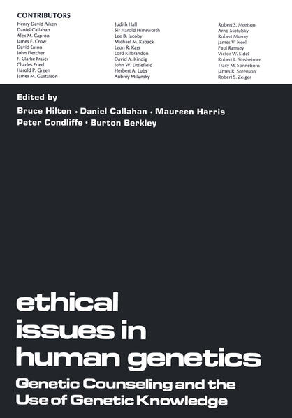 Ethical Issues in Human Genetics - Coverbild