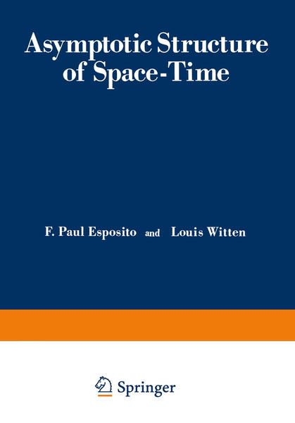 Asymptotic Structure of Space-Time - Coverbild