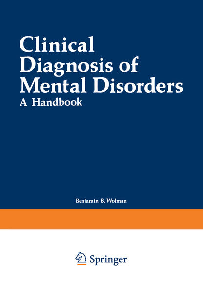 Clinical Diagnosis of Mental Disorders - Coverbild