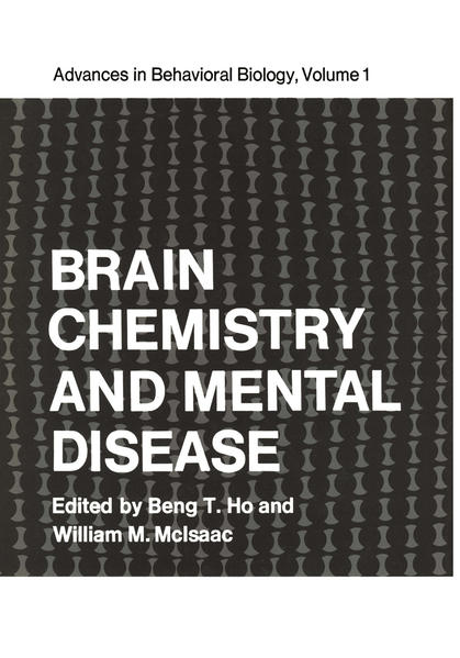 Brain Chemistry and Mental Disease - Coverbild