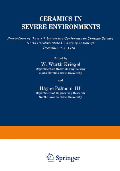 Ceramics in Severe Environments - Coverbild