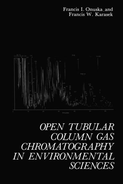 Open Tubular Column Gas Chromatography in Environmental Sciences - Coverbild