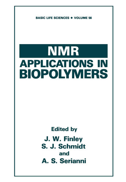 NMR Applications in Biopolymers - Coverbild