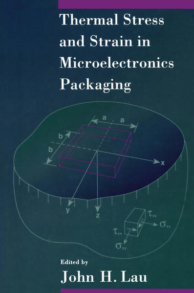 Thermal Stress and Strain in Microelectronics Packaging - Coverbild