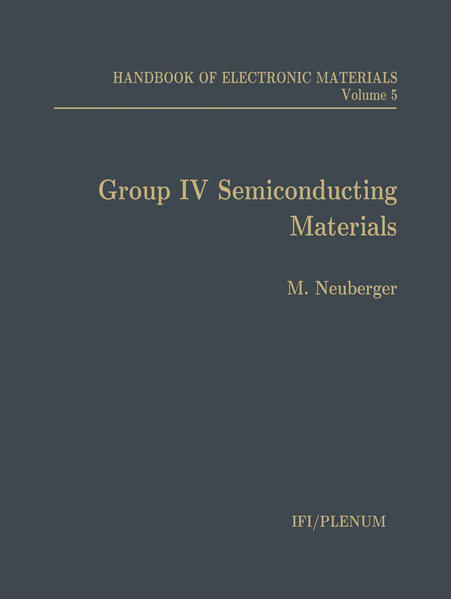 Handbook of Electronic Materials - Coverbild