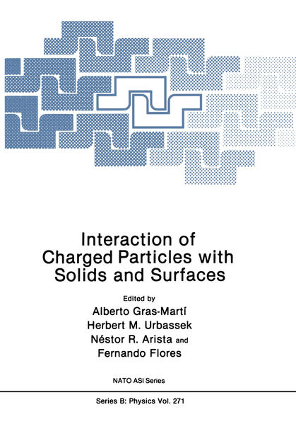 Interaction of Charged Particles with Solids and Surfaces - Coverbild