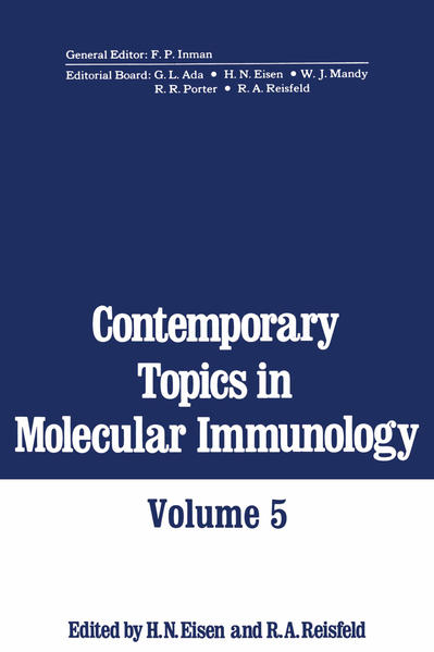 Contemporary Topics in Molecular Immunology - Coverbild
