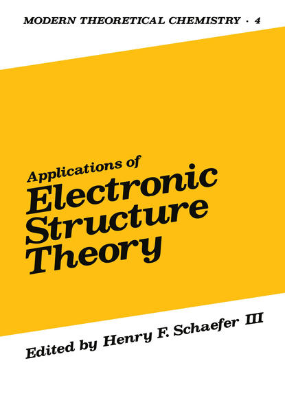 Applications of Electronic Structure Theory - Coverbild