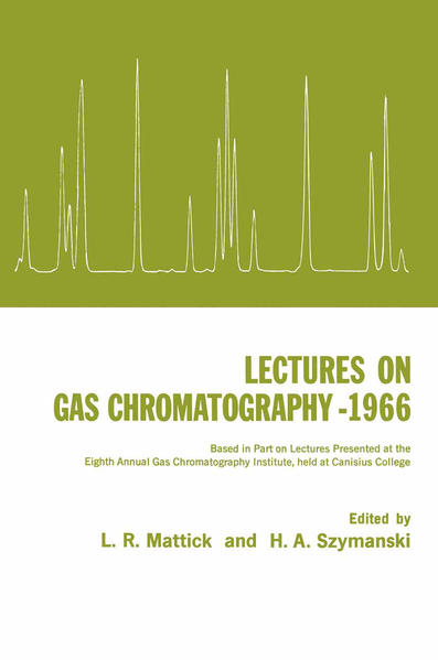 Lectures on Gas Chromatography 1966 - Coverbild