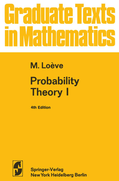 Probability Theory I - Coverbild