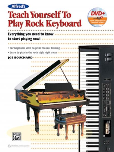 Alfred's Teach Yourself to Play Rock Keyboard - Coverbild