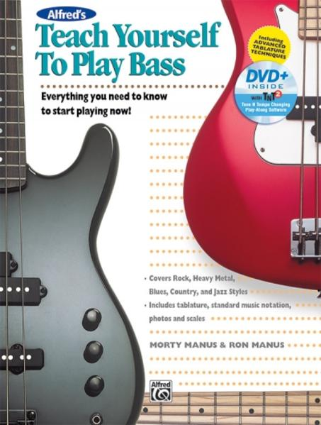 Alfred's Teach Yourself to Play Bass - Coverbild
