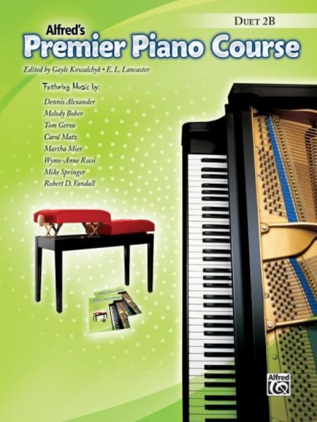Alfred's Premier Piano Course, Duet 2B - Coverbild